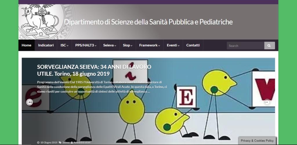 Sorveglianze del Dipartimento di Scienze della Sanità Pubblica e Pediatriche di Torino